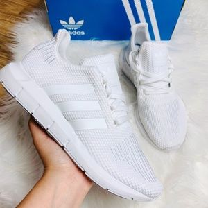 Adidas Originals Swift Run White Shoes